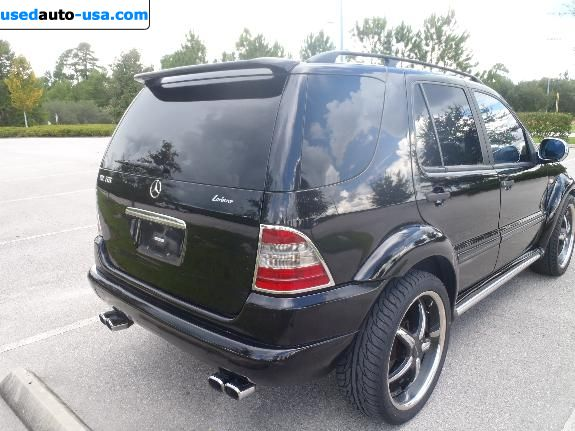 For Sale 2000 passenger car Mercedes ML Class 430 /AMG