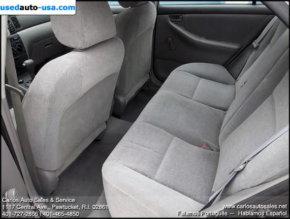 Car Market in USA - For Sale 2003  Toyota Corolla CE