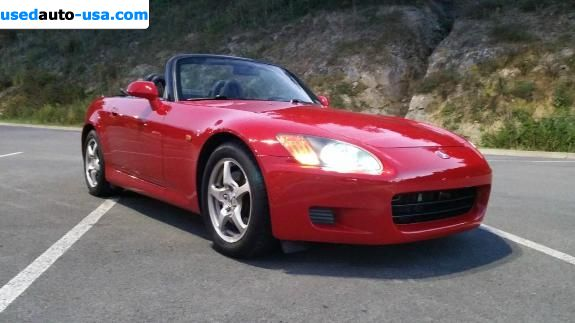 Car Market in USA - For Sale 2002  Honda S2000