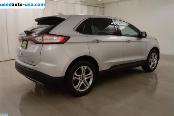 Car Market in USA - For Sale 2015  Ford Edge Titanium