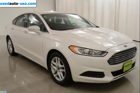 Car Market in USA - For Sale 2014  Ford Fusion SE