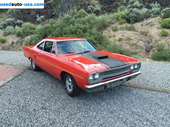 Car Market in USA - For Sale 1970    Road Runner