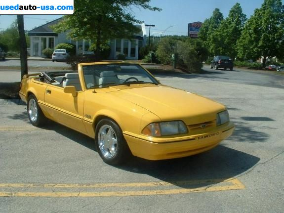 Car Market in USA - For Sale 1993  Ford Mustang