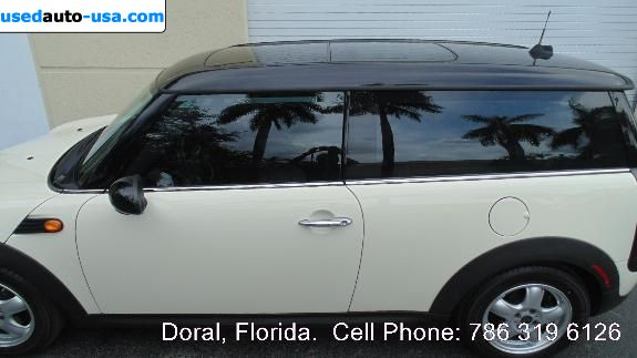Car Market in USA - For Sale 2009  Mini Cooper Clubman