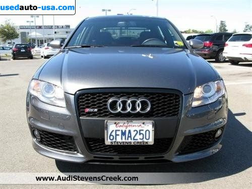 for sale 2008 passenger car audi rs4 quattro awd san jose insurance rate quote price 62988. Black Bedroom Furniture Sets. Home Design Ideas