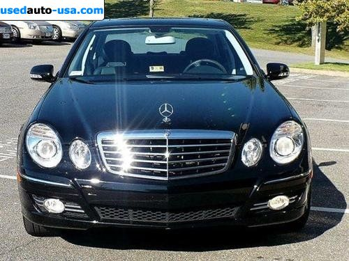 for sale 2008 passenger car mercedes e 2008 mercedes benz e class sport 3 5l lynchburg. Black Bedroom Furniture Sets. Home Design Ideas