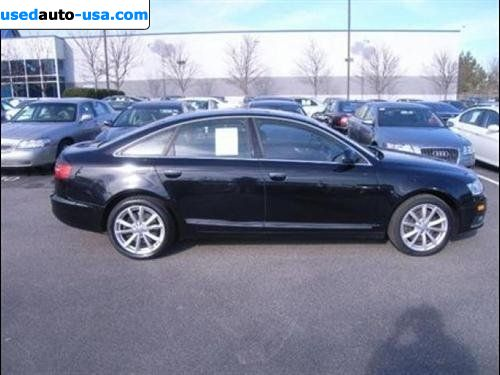 for sale 2009 passenger car audi a6 prestige raleigh. Black Bedroom Furniture Sets. Home Design Ideas