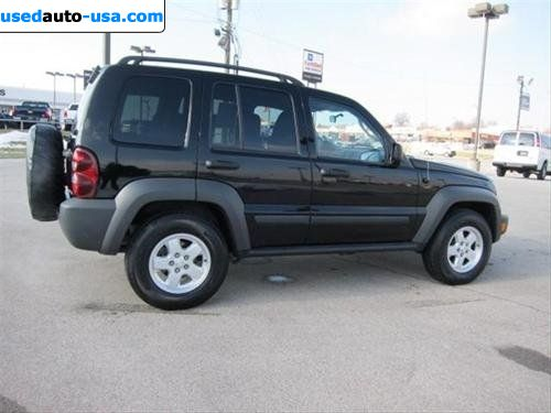 for sale 2007 passenger car jeep liberty sport kansas city insurance rate quote price 15825. Black Bedroom Furniture Sets. Home Design Ideas