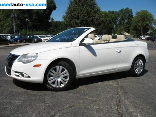 for sale 2008 passenger car volkswagen eos turbo mount. Black Bedroom Furniture Sets. Home Design Ideas