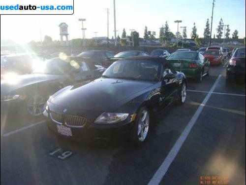 Car Market in USA - For Sale 2007  BMW Z4 Roadster