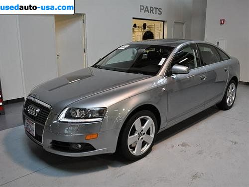 for sale 2008 passenger car audi a6 4 2 quattro awd oakland insurance rate quote price 35999. Black Bedroom Furniture Sets. Home Design Ideas