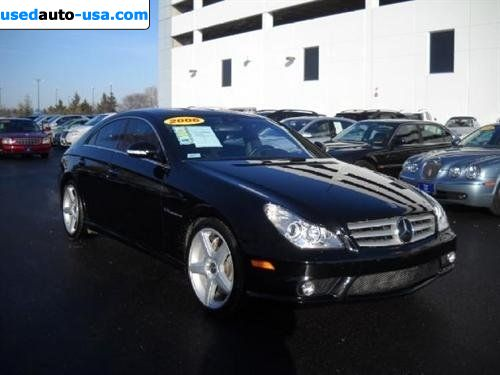 For Sale 2006 passenger car Mercedes CLS 2006 Mercedes-Benz