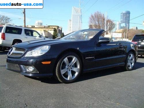 For sale 2009 2009 mercedes benz sl550 roadster atlanta for Mercedes benz insurance cost