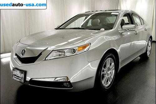 Car Market in USA - For Sale 2009  Acura TL 2009 Acura 