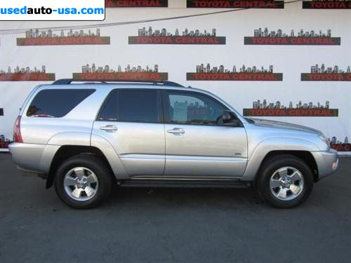 for sale 2005 passenger car toyota 4runner 4dr sr5 v8 auto. Black Bedroom Furniture Sets. Home Design Ideas