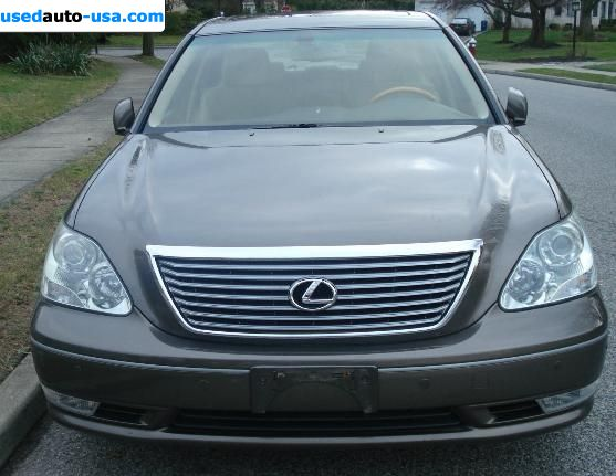 Car Market in USA - For Sale 2004  Lexus LS 430 430