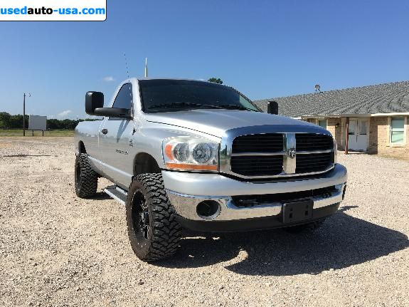 Car Market in USA - For Sale 2006  Dodge Ram 2500 Truck SLT Regular Cab 4x4