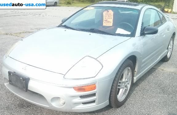 Car Market in USA - For Sale 2005  Mitsubishi Eclipse GT