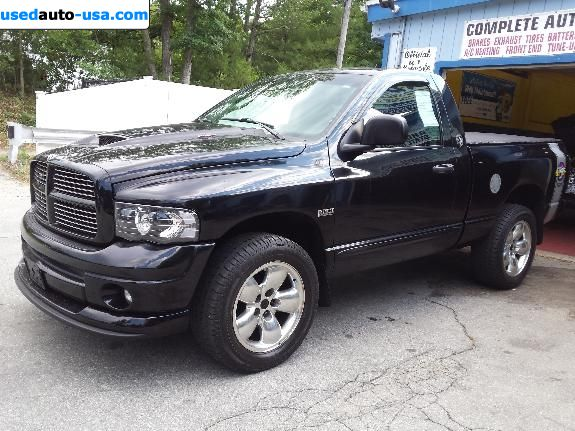 Car Market in USA - For Sale 2005  Dodge Ram 1500 Truck Rumble Bee