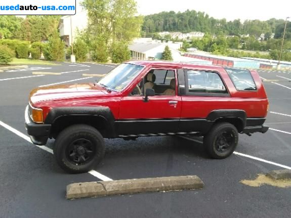 Car Market in USA - For Sale 1986  Toyota 4Runner