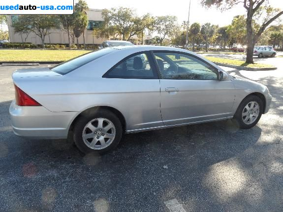 Car Market in USA - For Sale 2002  Honda Civic EX