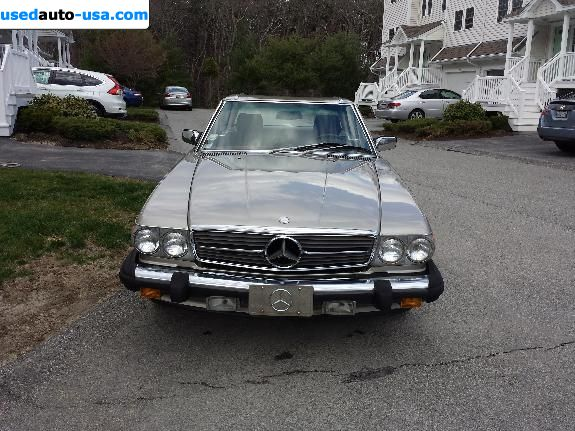 Car Market in USA - For Sale 1987  Mercedes Sl SL Class 560