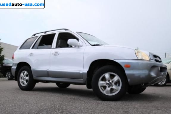 Car Market in USA - For Sale 2005  Hyundai Santa Fe