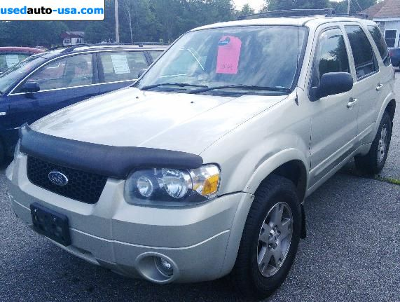 Car Market in USA - For Sale 2005  Ford Escape Limited