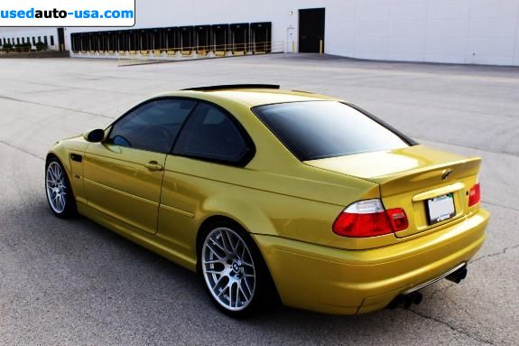 Car Market in USA - For Sale 2002  BMW m3 M3