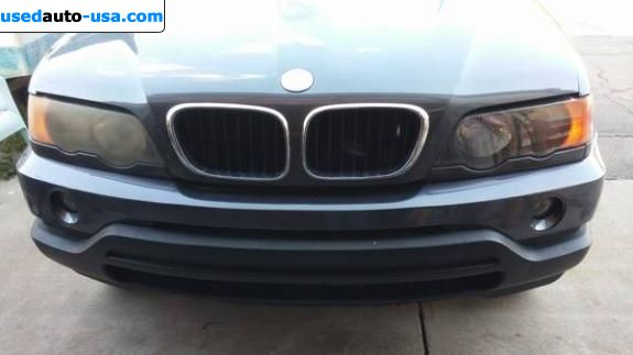 Car Market in USA - For Sale 2003  BMW X5