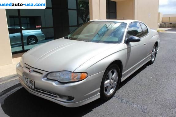 Car Market in USA - For Sale 2005    Monte Carlo supercharged SS