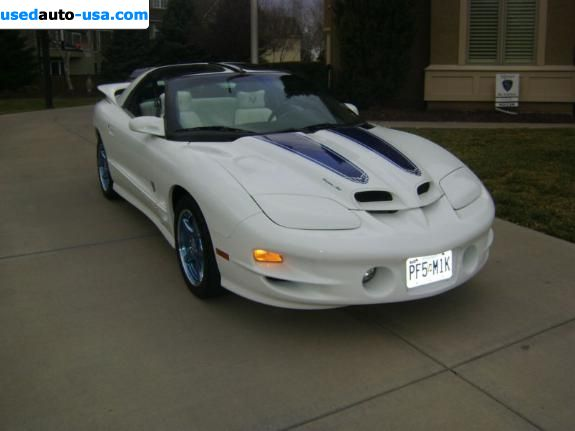 Car Market in USA - For Sale 1999    Trans Am