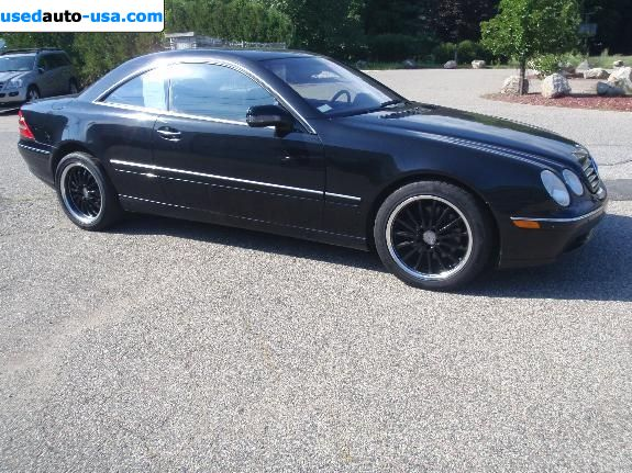 Car Market in USA - For Sale 2000  Mercedes CL Class  500