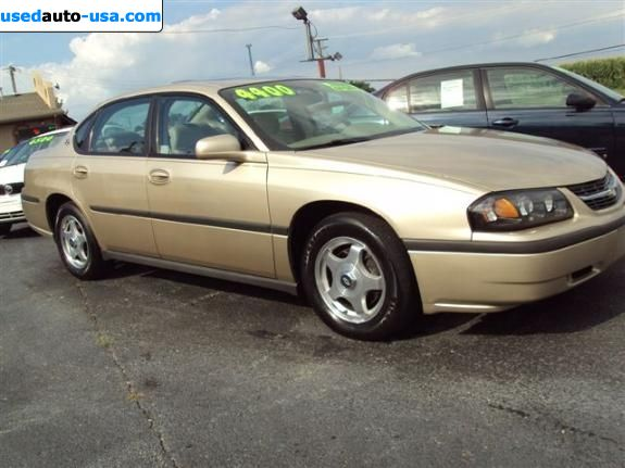 Car Market in USA - For Sale 2004  Chevrolet Impala