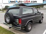 Car Market in USA - For Sale 1985  Ford Bronco XLT