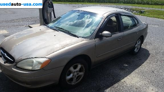 Car Market in USA - For Sale 2002  Ford Taurus SES