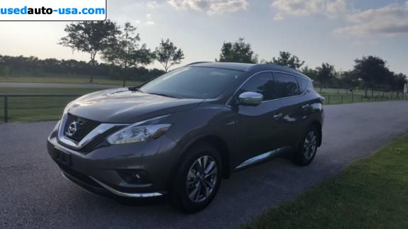 Car Market in USA - For Sale 2015  Nissan Murano