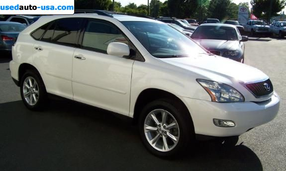 Car Market in USA - For Sale 2008  Lexus RX 350