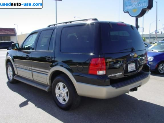 Car Market in USA - For Sale 2005  Ford Expedition EDDIE BAUER