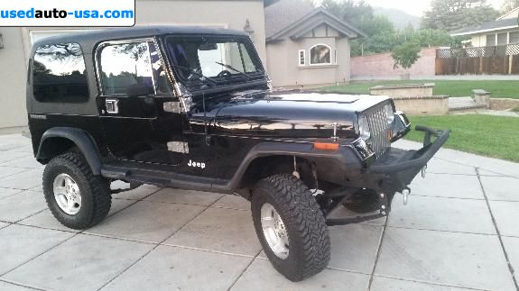 Car Market in USA - For Sale 1990  Jeep Wrangler