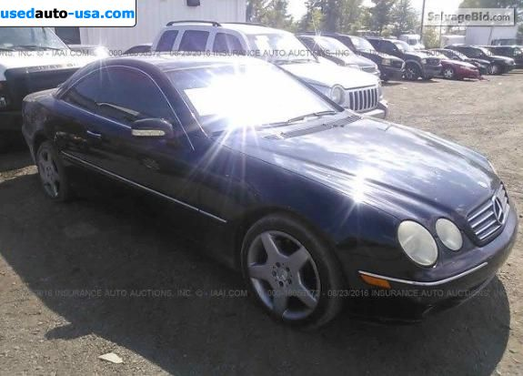 Car Market in USA - For Sale 2000  Mercedes CL Class