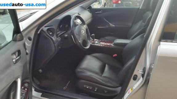 Car Market in USA - For Sale 2008  Lexus IS 250
