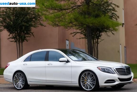 Car Market in USA - For Sale 2014  Mercedes S Class 550