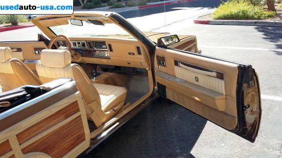 Car Market in USA - For Sale 1986  Chrysler Le Baron GTS