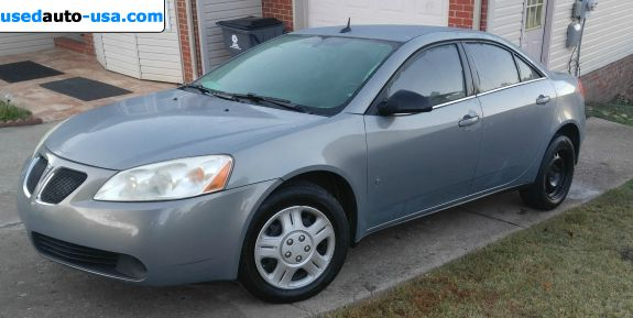 Car Market in USA - For Sale 2008  Pontiac G6 Value Leader
