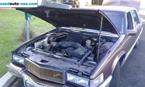 Car Market in USA - For Sale 1989  Cadillac Fleetwood