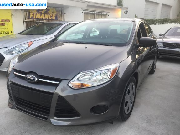 Car Market in USA - For Sale 2014  Ford Focus S