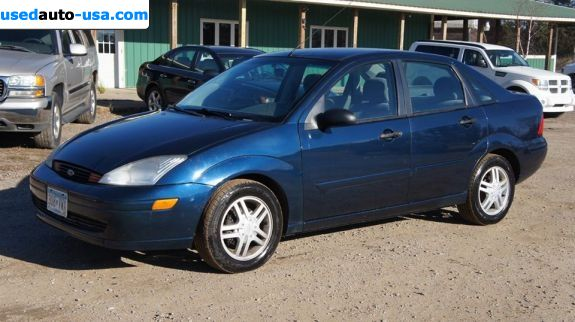 Car Market in USA - For Sale 2001  Ford Focus SE