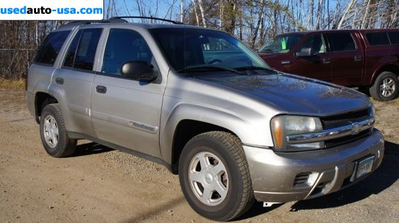 Car Market in USA - For Sale 2002  Chevrolet TrailBlazer LTZ