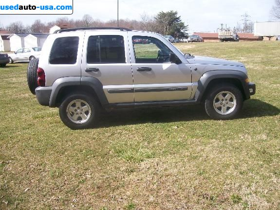 Car Market in USA - For Sale 2007  Jeep Liberty SPORT 4X4